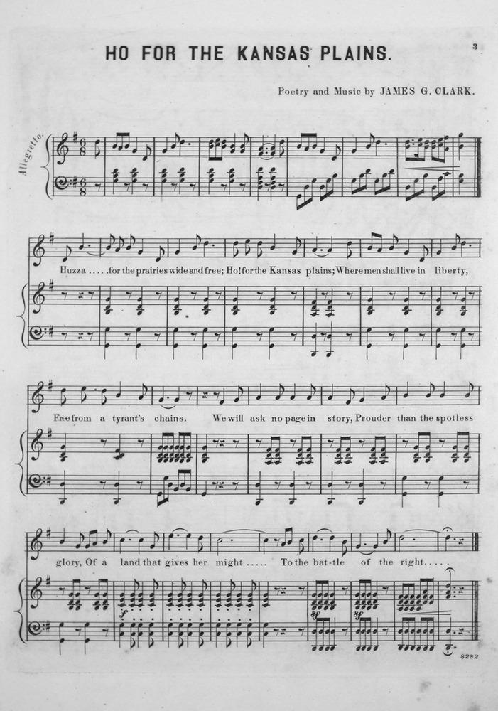 013.088 - Ho! for the Kansas Plains. Song & Chorus. | Levy Music ...