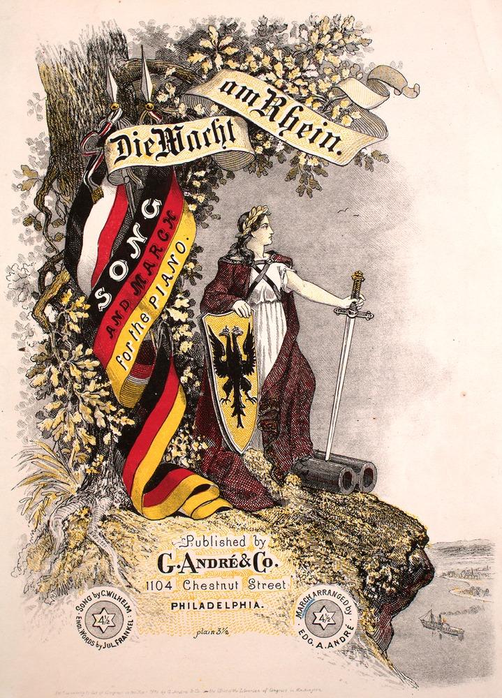 016 121 Die Wacht Am Rhein Levy Music Collection