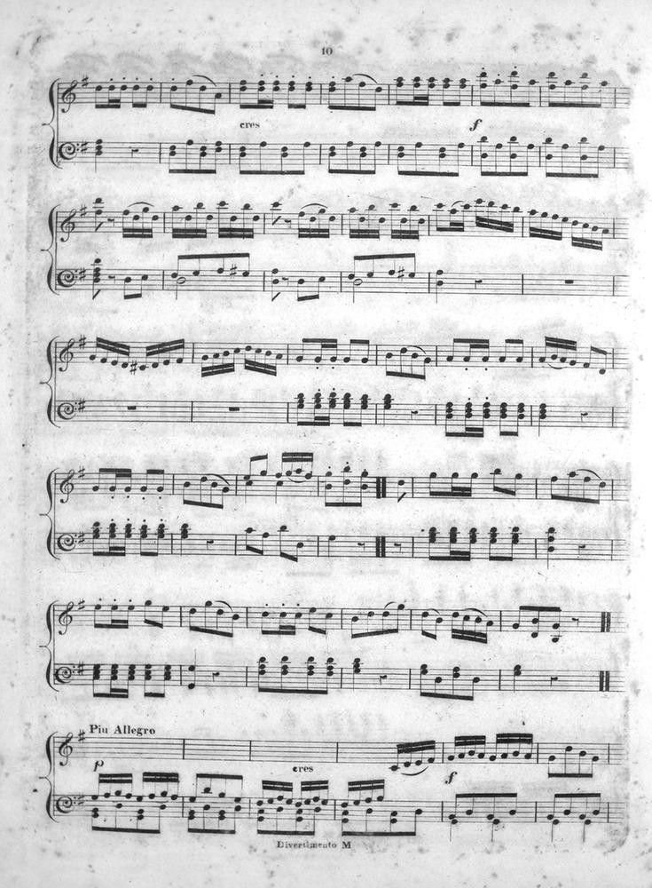 040.072 - The Drunken Sailor. Arranged as a Rondo for the Piano ...