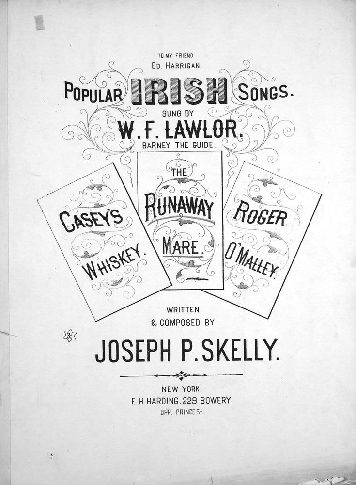 054 118 - Popular Irish Songs  The Runaway Mare  | Levy