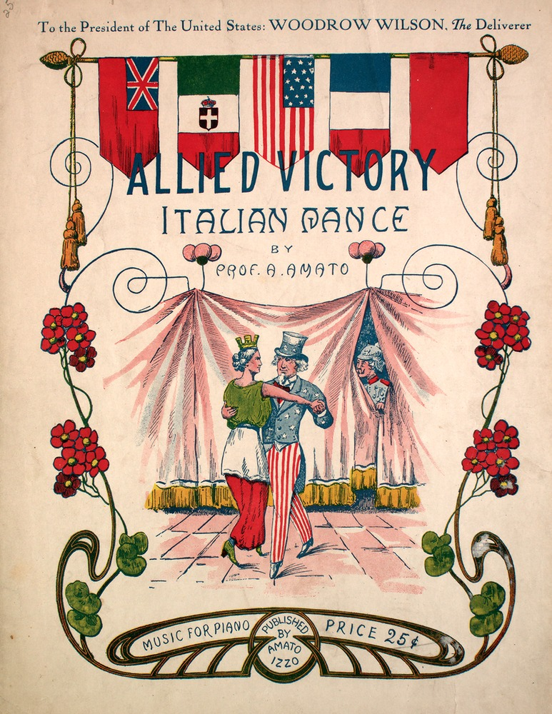 097 217 - Allied Victory Italian Dance  [also national hymns