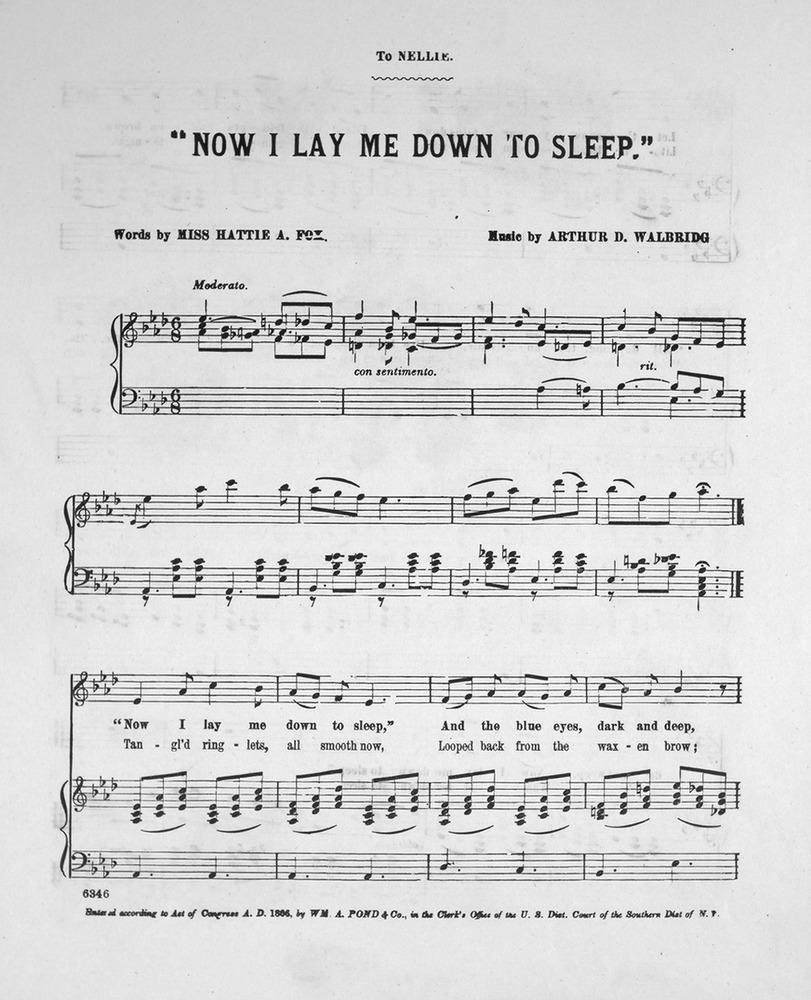 Lay Me Down Sheet Music Denmarpulsar