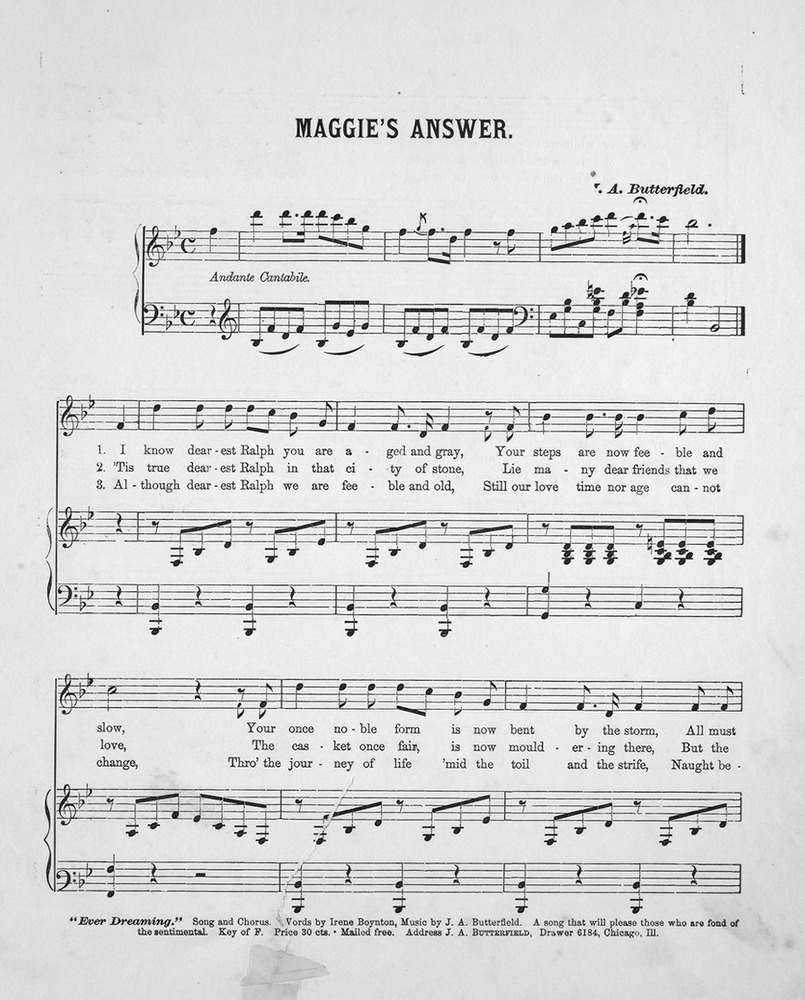 when you and i were young maggie sheet music pdf