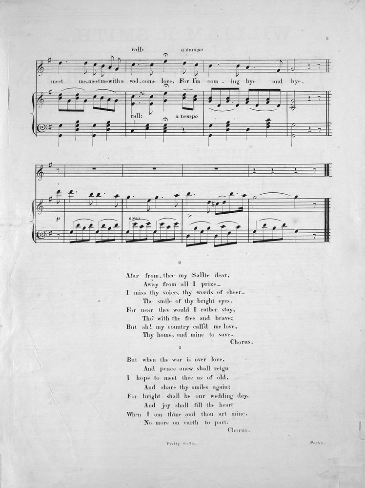 131 084 - Pretty Sallie  Popular Ballad  | Levy Music Collection