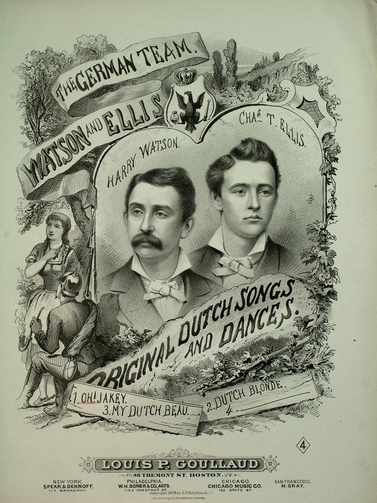 134 019 - The German Team, Watson and Ellis  Original Dutch