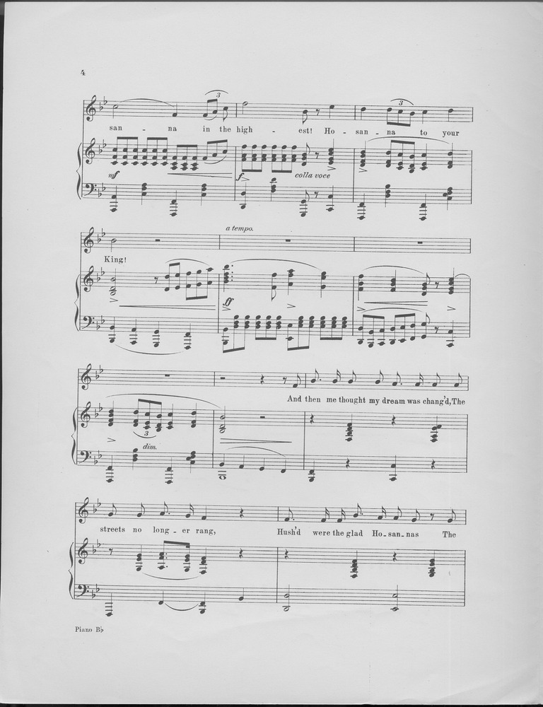 the holy city sheet music free
